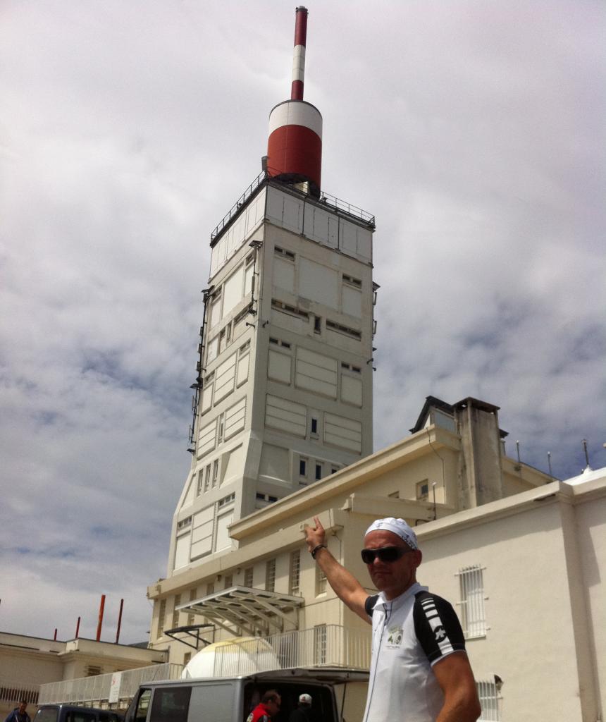 Ole Jensen på Mont Ventoux
